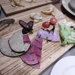 鎌倉グリル 洋食ビストロ - 鎌倉野菜のグリル