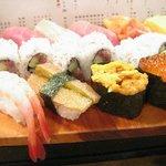 魚がし鮨 - 海鮮にぎり