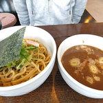 めん屋 いなば - つけ麺(温)