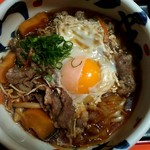 川福 - すき焼きうどん