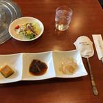 チョアヨ - ランチの前菜です