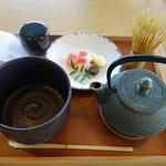 茶房 贔 - 抹茶~青漆~