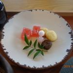 茶房 贔 - お菓子