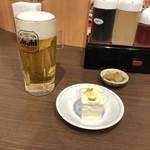 福しん - 生ビール & クーポン冷奴