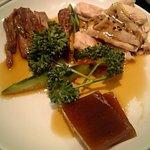 1038567 - フカヒレ煮こごり前菜の盛り合わせ