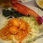 1038569 - 伊勢海老のフカヒレチリソース煮