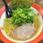 103802190 - 細麺(680円)+九条ねぎ(100円)