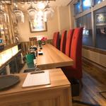 カフェ アンド レストラン オーガリ - カウンターおしゃん