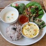 カフェ ド ポワン - 料理写真:ワンプレートランチ
