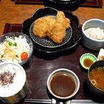 とんかつ懐石 こざくら - ひれかつ定食 1500円