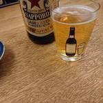 103811221 - ビールグラスに可愛い絵が