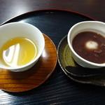 103812597 - 竹茶とおしるこ