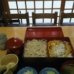 更科 - カツ丼セット
