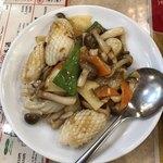 Shahoushurou - イカとXO醬ソースの炒め