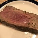 ブラッスリー ロワゾブリュ - ほんのりピンクな焼き具合が素敵