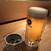 魚山人 - 料理写真:生ビールとお通し