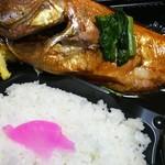 ランチタイム - 料理写真:金目煮付け弁当¥600