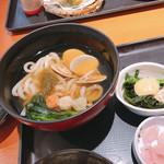 和食さと - 蛤うどんズーム