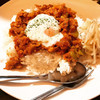 欧風カリーM - 料理写真:そら豆のキーマカリー(温玉付き)