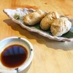 浅野屋 - 料理写真:そばがき素揚げです。