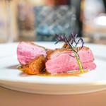 リストランテ ラ・バリック トウキョウ - フランス産シャラン鴨のソテー 牛蒡のソース