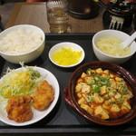 Chuukaryourikimmeihanten - 日替り 麻婆豆腐セット 680円