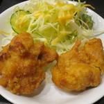 中華料理 金明飯店 - 唐揚げ