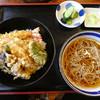 戸隠生そば - 料理写真:天丼&お蕎麦セット950円