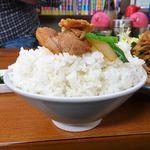103836551 - ランチ 焼肉定食(大盛)640円(税込)