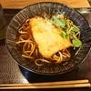 嵯峨谷 - 料理写真:とり天そば¥500-
