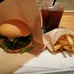 103838432 - the 3rd Burger Mセット