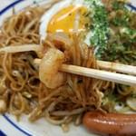 大判焼き マツモト - 麺のリフトアップ