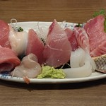 魚がし食堂 中央市場店 - 上刺し盛