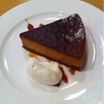 カモCafe - キャラメルチーズケーキ