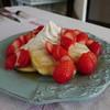 ミルカ - 料理写真:特別栽培 苺パンケーキ