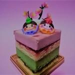 パティスリーQBG - ひなまつりケーキ