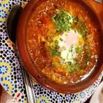 モロッコ料理の台所 エンリケマルエコス - ラム肉 たじん