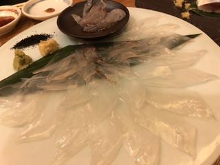 銀座 魚ばか - とっても甘かった〜