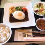 東筑波カントリークラブ レストラン - 【2019年01月】東筑波のデミグラスハンバーグ。