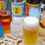 大新 - オリオン生ビールに全30種の琉球泡盛!チューハイやカクテルも充実!!