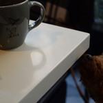 Guddomoningukafe - 珈琲2杯お代わりしました。