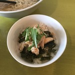 中華そば Ryo - セットA 鶏チャーシュー丼(小)