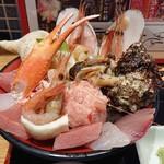 魚菜屋 - 能登の美食丼(アップ)