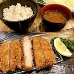 恵比寿かつ彩 - 料理写真:赤毛のデュロックロースかつ御膳1,706円