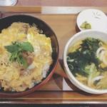 グリル逢味 - 料理写真:近江牛すき焼き丼定食