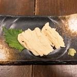 ぐらがら - 南アルプスの横山さんが丹精込めてつくった極上粋き湯葉のお刺身