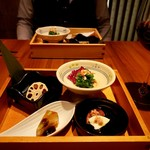 円居 - 前菜盛合せ
