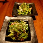円居 - 和野菜の白だしサラダ