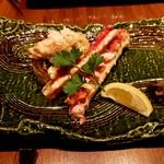 円居 - 大タラバ蟹の鉄板焼き