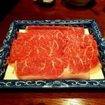 Sun-mi高松 - ランチのすき焼きのお肉(ロース)